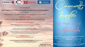 Concert benefic în Alcobendas în vederea construirii primei clinici de recuperare oncologică din România