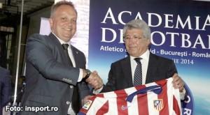 Enrique Cerezo a inaugurat în România Academia Atletico de Madrid