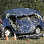Navarra: Un bărbat şi doi copii, toţi de naţionalitate română au murit într-un tragic accident rutier